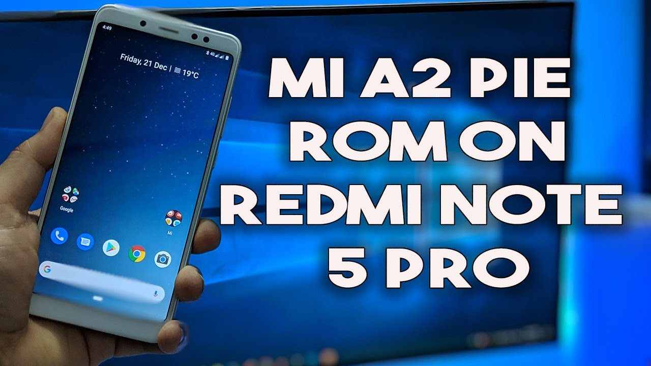 Samsung Note 5 Pie Rom