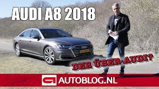 2018 Audi A8L 50 TDI rijtest Video