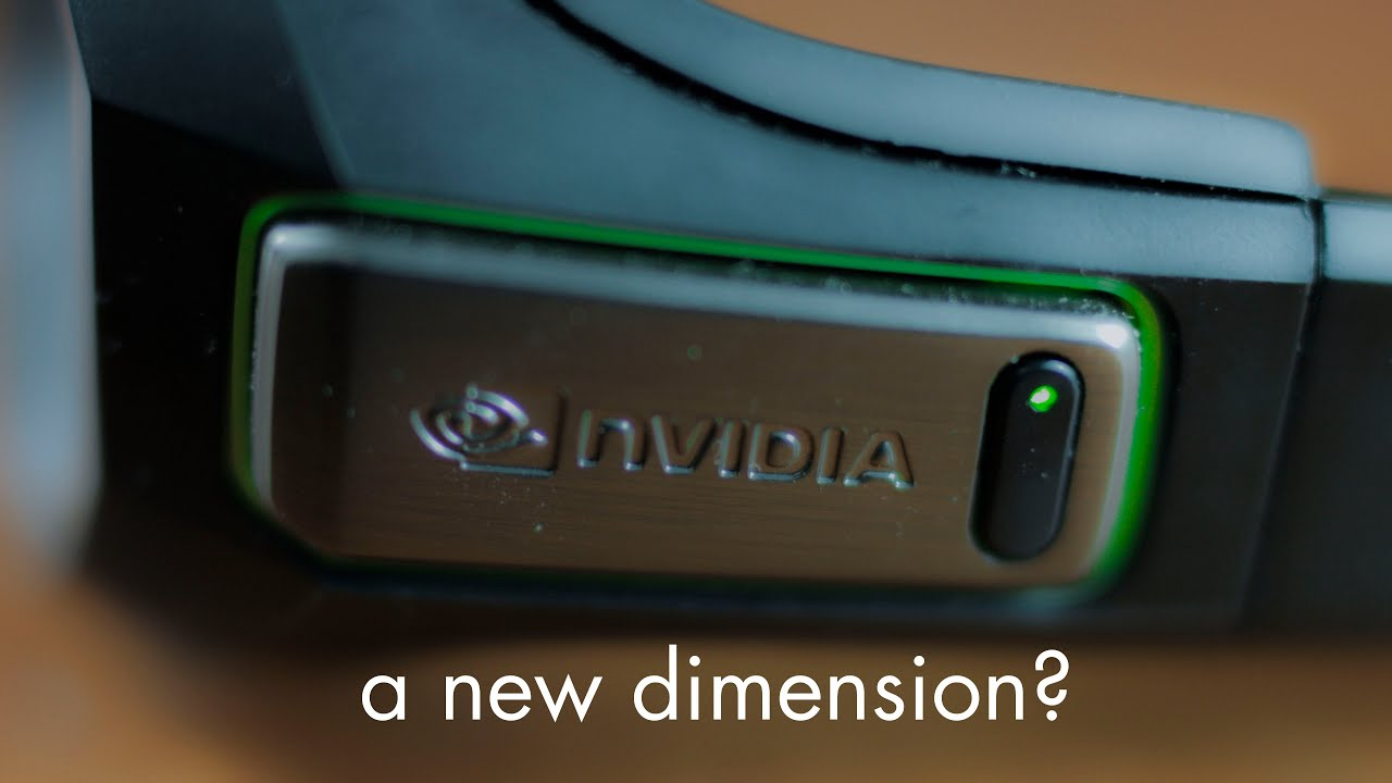 nvidia 3d vision what is it