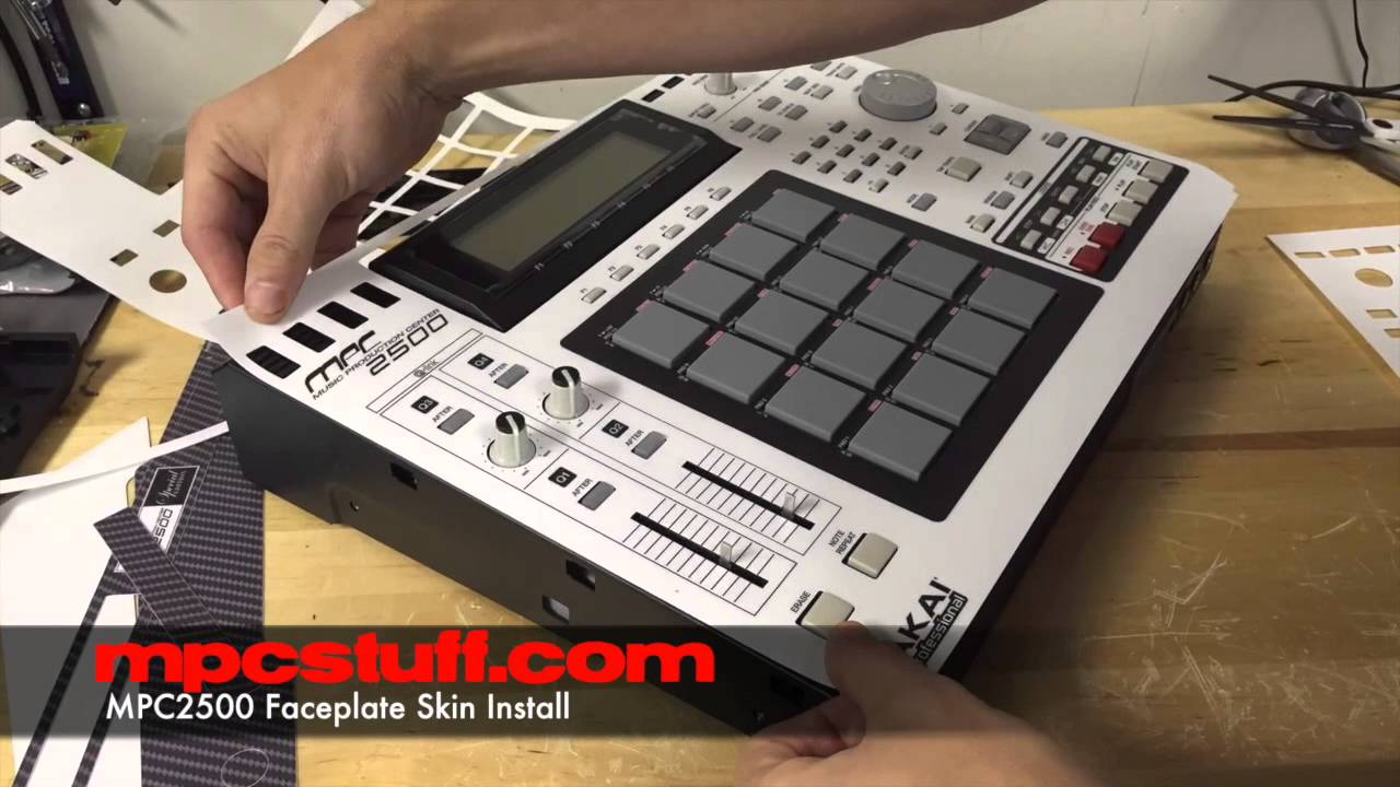 Akai MPC Touch Custom Custom Color Faceplate Skin Kit Cover