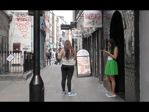 SOHO LONDON RED LIGHT AREA Walkabout | CHINATOWN | Massage Girls | Newport Court | Lisle Street