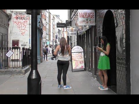 SOHO, London VLOG 1 | Chinatown | Newport Court | Lisle Street | Red Light Area