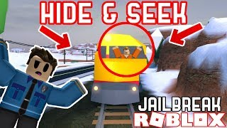 JAILBREAK HIDE AND SEEK! *GLITCHES* - Roblox Jailbreak Glitch Hide and Seek