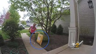 Customers Upset After Amazon Driver Throws Their Packages