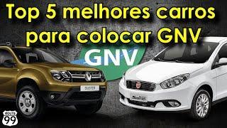 TOP 5 MELHORES CARROS PARA COLOCAR GNV