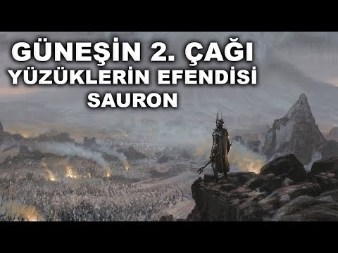 """Orta Dünya Tarihi   Güneşin 2. Çağı  """"Numenor ve Yüzüklerin Efendisi Sauron"""""""