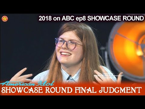 Catie Turner sings Bad Romance Showcase Round Final Judgment American Idol 2018