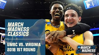 No. 16 UMBC upsets No. 1 Virginia: The Complete Game