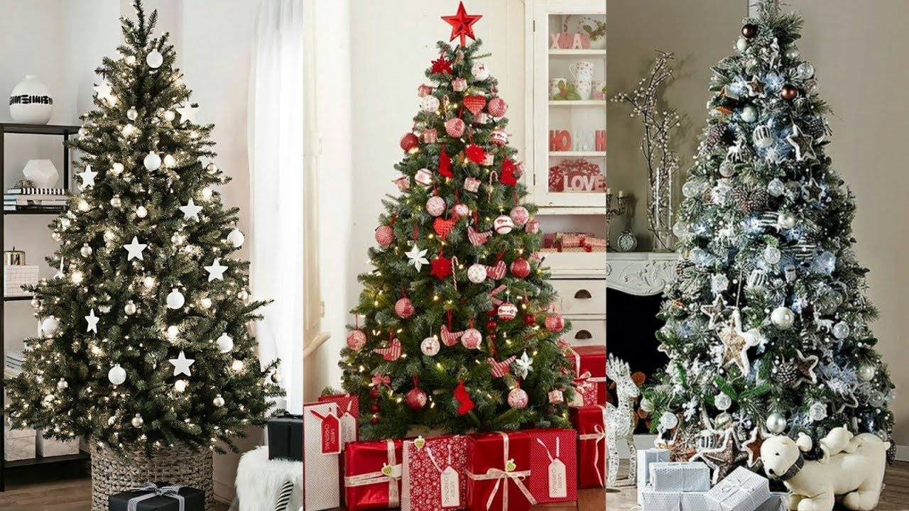 Como Decorar Mi Casa En Esta Navidad 2019.Arboles De Navidad 2019 2020 Nuevas Tendencias Para Decorar Ideas De Adornos Navidenos