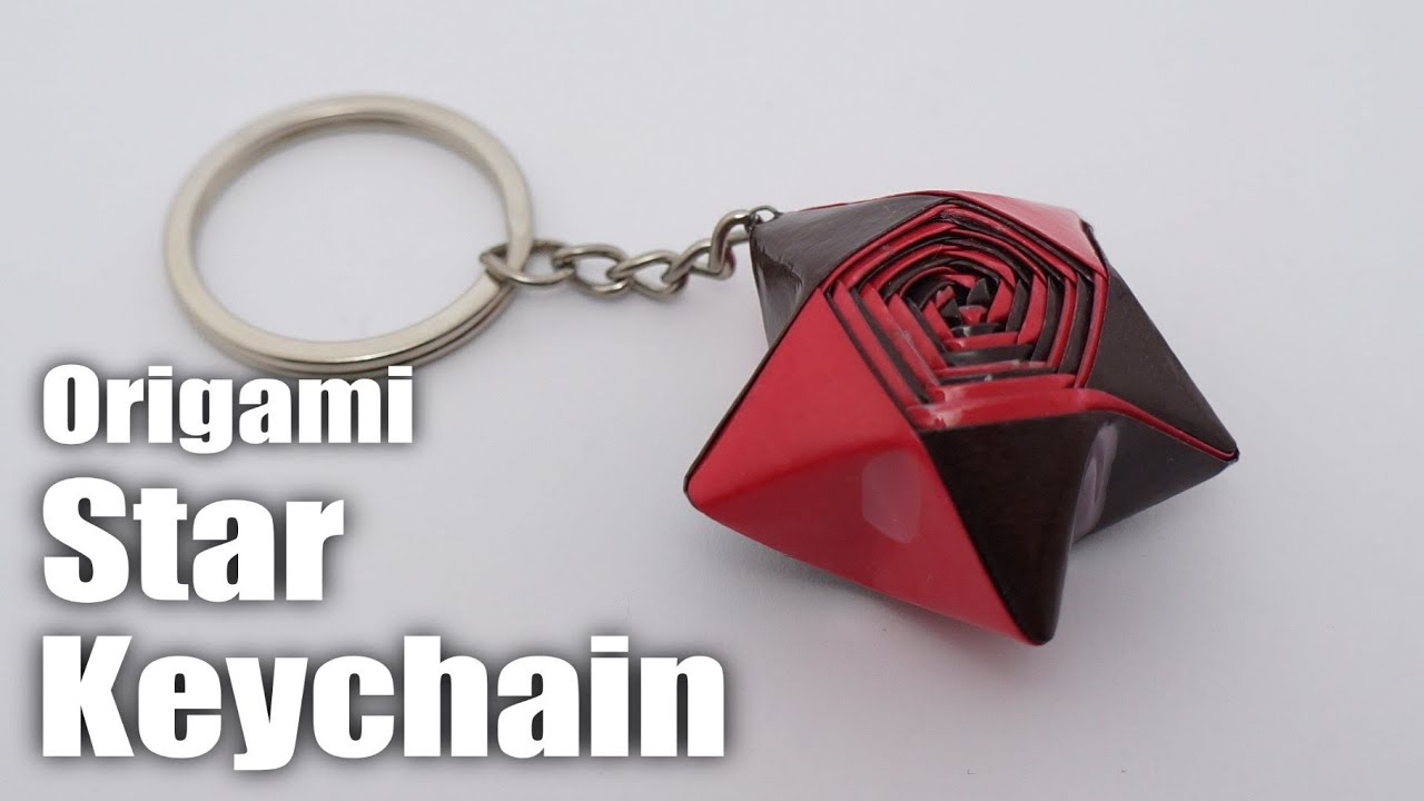 how to make a simple key chain on youtube