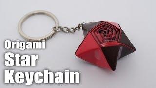 Origami Star Keychain Timelapse