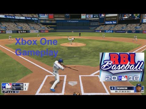 RBI Baseball 16 Gameplay Season Mode (Xbox One)