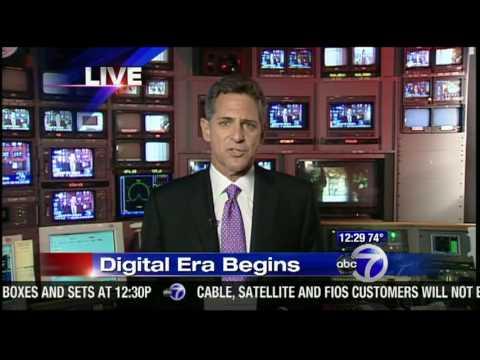 WABC-TV analog shutdown, WABC-DT stays on (DTV conversion), June 12, 2009