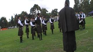 City of Melbourne Highland Pipe band - Berwick 2012 - Medley