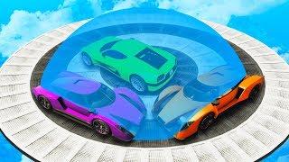 BATTLE ROYALE Sumo Derby?! - GTA 5 Funny Moments