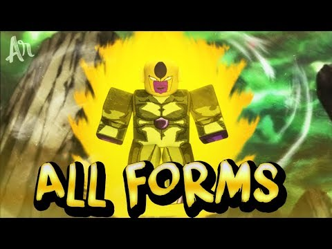 All Frieza Race Forms Including True Golden in ROBLOX Dragon Ball Z Final Stand