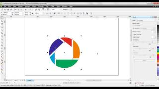 how to make picasa logo in corel draw