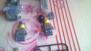 Лего человечки военные с техникой в .Житикара