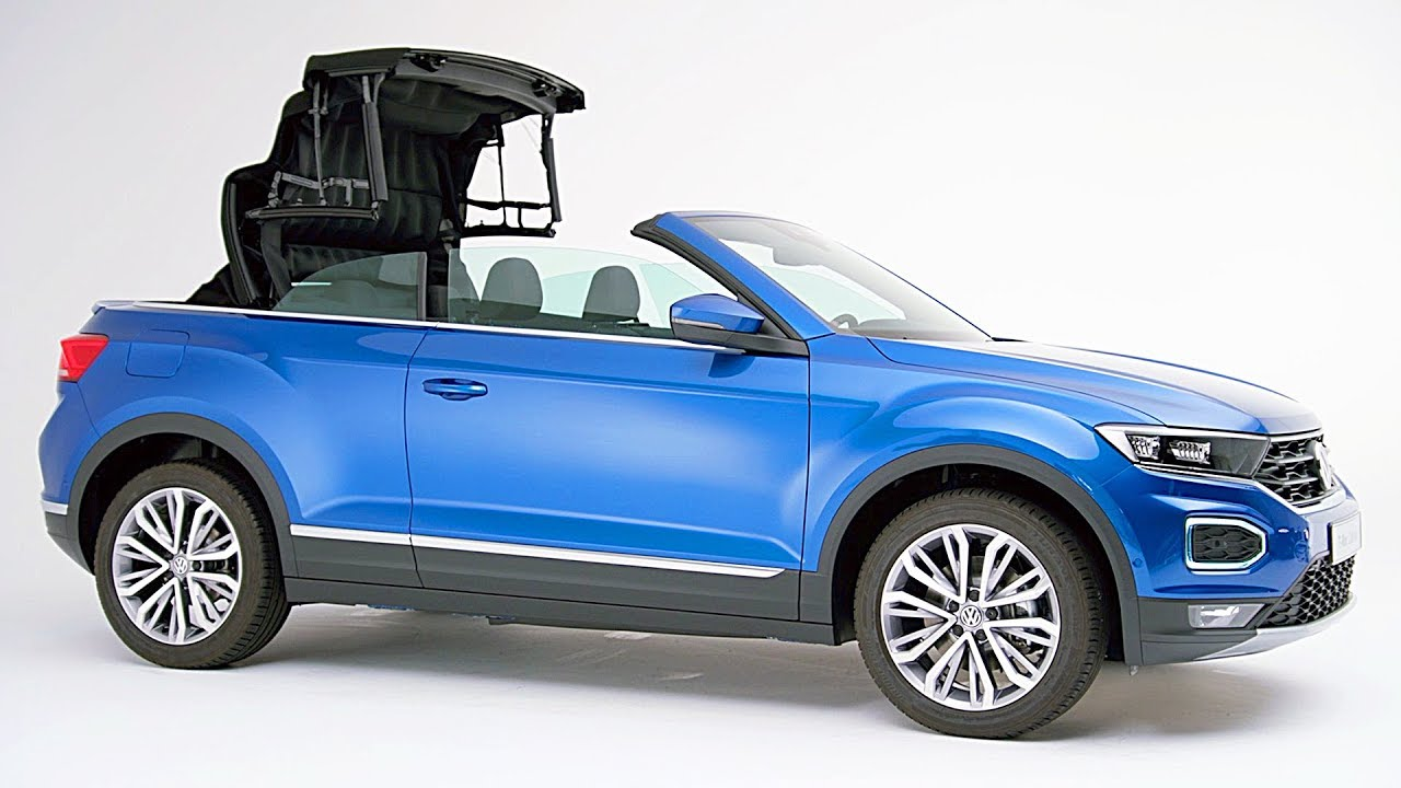 Convertible Suv Volkswagen T Roc Cabriolet 2020 Youtube