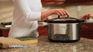 Calphalon Stainless Steel Digital Electric Slow Cooker