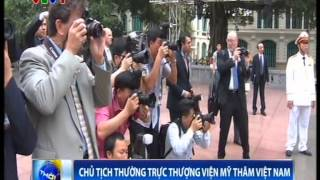 Vietnamese High-Level Leaders  Receive U.S. Senate President Pro Tempore Patrick Leahy