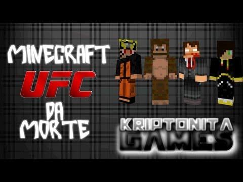 Minecraft UFC da Morte - Nocautes épicos