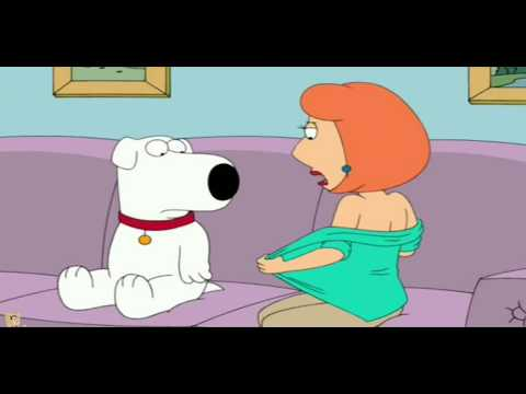 Family Guy - Lois cheats on Peter with a dog