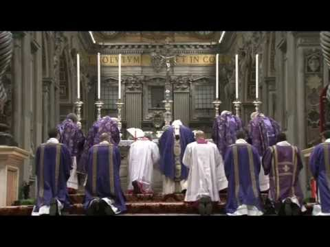 Pope Benedict XVI Ash Wednesday 13 02 2013