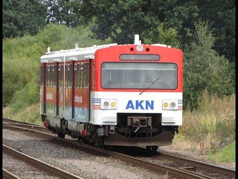 AKN Eisenbahn - A1 Eidelstedt to Ulzburg Süd