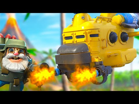 HEAVY CHOPPERS AND BOMBARDIERS IN BOOM BEACH!