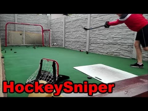 Composite Stick vs. Wooden Stick / HockeySniper