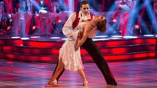 Kirsty Gallacher & Brendan Cole Charleston to