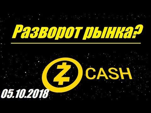Криптовалюта ZEC/USD - Разворот? /05.10.2018