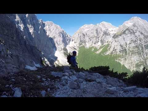 Slovenian Alps in a time-lapse video
