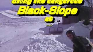 Skiing the Black-Slope at Rosskopf in Bavaria with BertTheAce