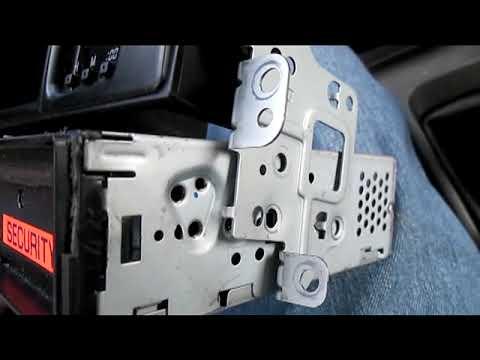 Installing a new car stereo in a Daihatsu Copen