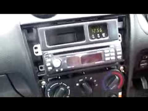 Installing a new car stereo in a Daihatsu Copen on
