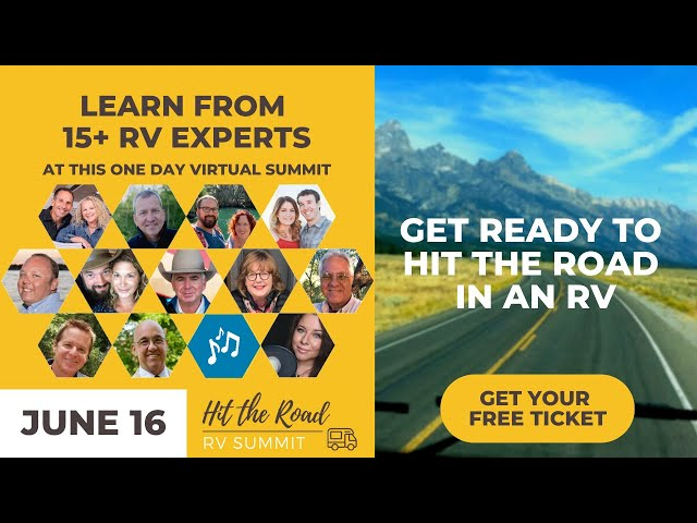 You're Invited to the HIT THE ROAD RV SUMMIT One Day Virtual Event – | RV Life
