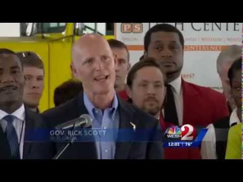 "WESH: Gov. Scott Proposes ""Career in a Year"" Tech Center Fun"