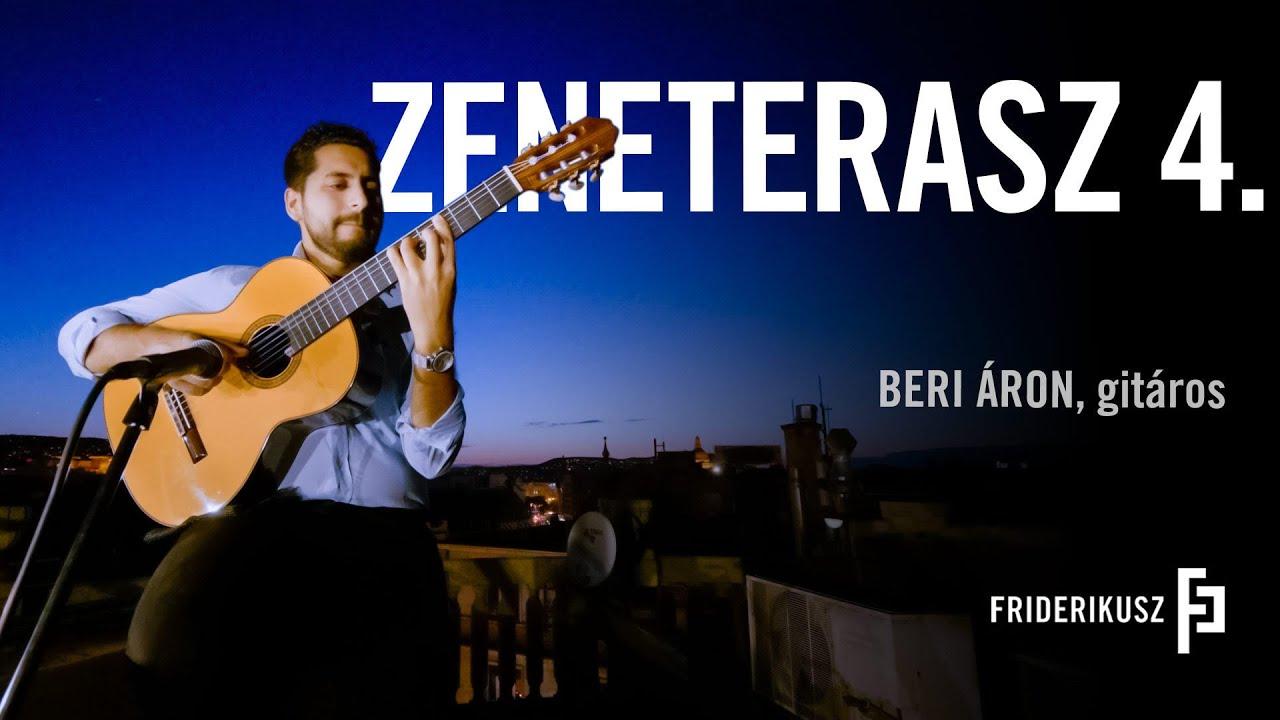 ZENETERASZ - Beri Áron, gitáros /// a Friderikusz Podcast zenei melléklete 4.
