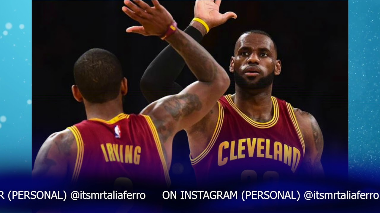 Kyrie Irving Doesnt Personally Thank Lebron James In Heartfelt Thank