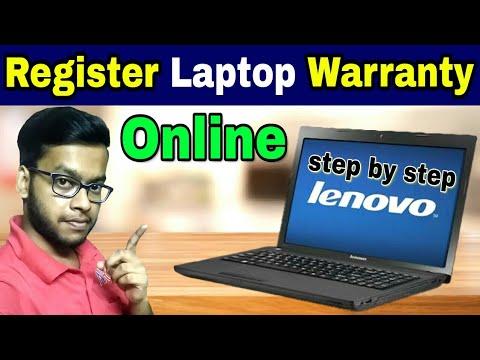 Lenovo Laptop Warranty Registration Online | Step by Step Laptop  Registration for Extended Warranty
