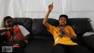 Earl Sweatshirt and Domo Genesis - Interview - The FADER Fort Presented by Converse