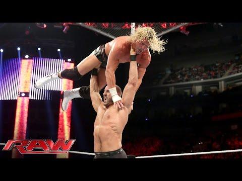 Dolph Ziggler vs. Cesaro: Raw, Oct. 20, 2014