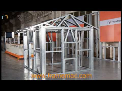 Light Gauge Steel Frame House lgs structure machine