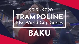 2020 Baku Trampoline World Cup – Highlights Synchro and Tumbling competitions