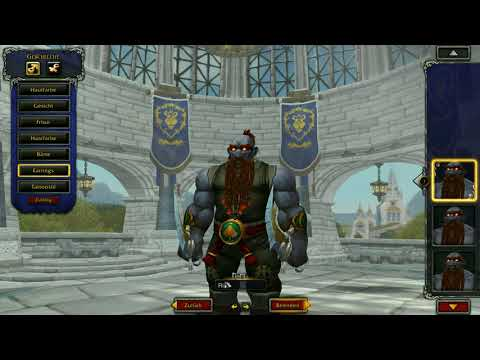 WoW | Battle for Azeroth Beta | New Allied Races | Iron Dwarft first view | racials and combat