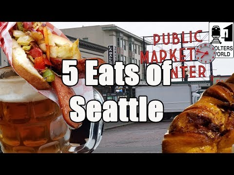 Eat Seattle - 5 Things You HAVE TO EAT in Seattle