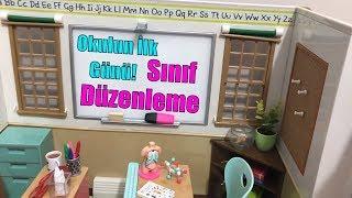 Okulun İlk Günü Sınıf Düzenleme! Play Dolls School Classroom Toy Set! Our Generation Bidünya Oyuncak