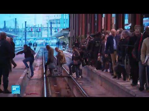 إضراب عمال سكك الحديد في فرنسا يشل قطاع النقل العام  - 17:23-2018 / 4 / 4